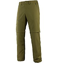Salewa *Iseo Dry 2/1- pantaloni zip-off - uomo, Green
