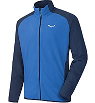 Salewa Plose - giacca in pile trekking - uomo, Blue