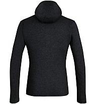 Salewa Rocca 2 Pl Hoody - giacca in pile con cappuccio - uomo, Black