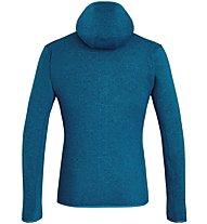 Salewa Rocca 2 Pl Hoody - giacca in pile con cappuccio - uomo, Blue