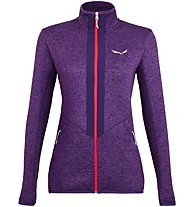 Salewa Rocca 2 PL - giacca in pile - donna, Violet/Red