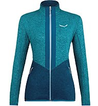 Salewa Rocca 2 Pl - Fleecejacke Trekking - Damen, Light Blue/Blue
