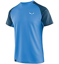 Salewa Sporty B 3 Dry - T-shirt trekking - uomo, Light Blue