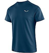 Salewa Sporty B 3 Dry - T-shirt trekking - uomo, Blue