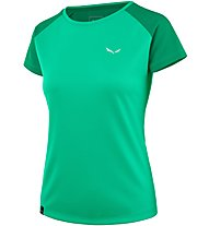 Salewa Sporty B 3 Dry - T-shirt trekking - donna, Green