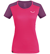 Salewa *Sporty B 4 Dry M S/S - T-shirt trekking - donna, Pink