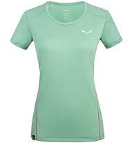 Salewa *Sporty B 4 Dry M S/S - T-shirt trekking - donna, Green