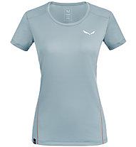 Salewa *Sporty B 4 Dry M S/S - T-shirt trekking - donna, Grey