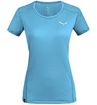 Salewa *Sporty B 4 Dry M - Trekkingshirt - Damen, Azure/White