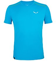 Salewa *Sporty B 4 Dry - T-shirt trekking - uomo, Light Blue