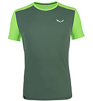 Salewa *Sporty B 4 Dry - T-shirt trekking - uomo, Green
