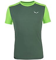 Salewa *Sporty B 4 Dry - Herren-Trekking-T-Shirt, Green