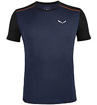 Salewa *Sporty B 4 Dry - Herren-Trekking-T-Shirt, Dark Blue/Black/Red