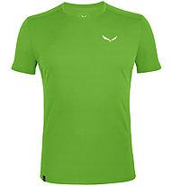Salewa *Sporty B 4 Dry - Herren-Trekking-T-Shirt, Green/White