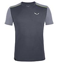 Salewa *Sporty B 4 Dry - Herren-Trekking-T-Shirt, Grey/Light Grey