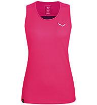Salewa *Sporty Dry W S/S - Damen-Trekking- Tanktop, Pink/Violet