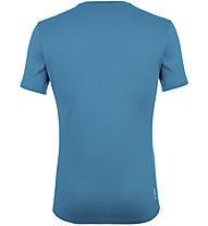 Salewa *Sporty Graphic Dry M S/S - T-shirt trekking - uomo, Light Blue