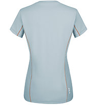 Salewa *Sporty Graphic Dry W S/S - Damen-Trekking-T-Shirt, Azure