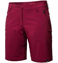 Salewa *Talvena DST - pantaloni corti trekking - donna, Dark Red