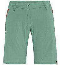 Salewa *Talvena DST - pantaloni corti trekking - donna, Green