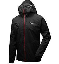 Salewa Agner Cordura 2 PTX 2.5L - giacca hardshell arrampicata - uomo, Black