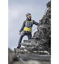 Salewa Agner Cordura 2 PTX 2.5L - giacca hardshell arrampicata - uomo, Grey/Yellow