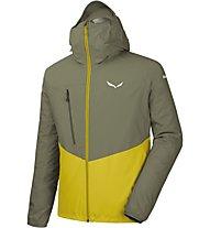Salewa Agner Cordura Ptx 2,5 L - Hardshelljacke mit Kapuze - Herren, Yellow/Green