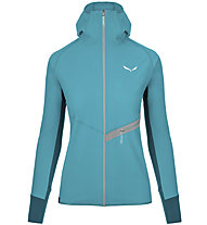 Salewa Agner DST/DRY - giacca alpinismo - donna, Light Blue/Grey