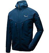 Salewa Agner Engineered DST - giacca con cappuccio alpinismo - uomo, Blue