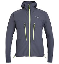Salewa Agner Engineered DST - giacca con cappuccio alpinismo - uomo, Dark Grey