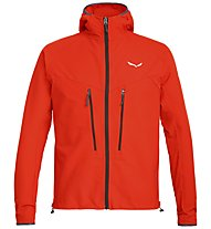 Salewa Agner Engineered DST - giacca con cappuccio alpinismo - uomo, Orange
