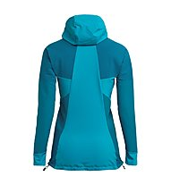 Salewa Agner Engineered - Bergsportjacke mit Kapuze - Damen, Light Blue