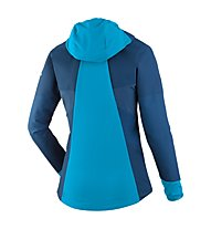 Salewa Agner Engineered DST - giacca con cappuccio - donna, Blue