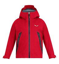 Salewa Agner GTX 3L K - giacca in GORE-TEX - bambino, Red