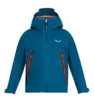 Salewa Agner GTX 3L K - giacca in GORE-TEX - bambino, Blue/Red