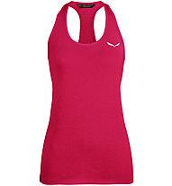 Salewa Agner Hybrid Dri-Rel - top arrampicata - donna, Pink