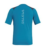 Salewa Agner Hybrid Dry - t-shirt a manica corta - uomo, Blue