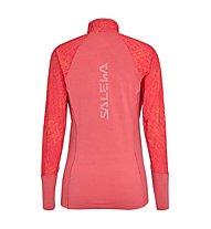 Salewa Agner Hybrid - maglia a manica lunga - donna, Red