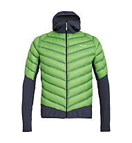 Salewa Agner Hybrid Dwn - giacca piumino - uomo, Light Green