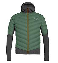 Salewa Agner Hybrid Dwn - giacca piumino - uomo, Green/Black
