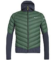 Salewa Agner Hybrid Dwn - giacca piumino - uomo, Green/Blue