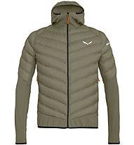 Salewa Agner Hybrid Dwn - giacca piumino - uomo, Brown/Black