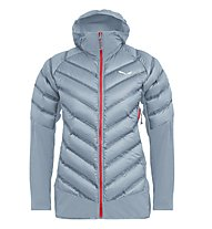 Salewa Agner Hybrid Dwn W Jkt - giacca ibrida - donna, Light Blue/Red