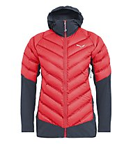 Salewa Agner Hybrid Down W - Hybridjacke - Damen, Red/Black