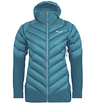 Salewa Agner Hybrid Dwn W Jkt - giacca ibrida - donna, Light Blue/Grey