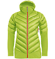 Salewa Agner Hybrid Dwn W Jkt - giacca ibrida - donna, Light Green/Red