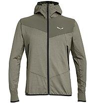 Salewa Agner Hybrid Pl/Dst - giacca softshell - uomo, Brown/Black