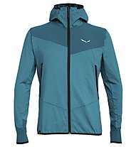 Salewa Agner Hybrid Pl/Dst - giacca softshell - uomo, Light Blue