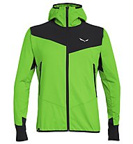 Salewa Agner Hybrid Pl/Dst - giacca softshell - uomo, Light Green