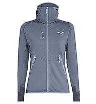 Salewa Agner Hybrid PL/DST - Fleecejacke mit Kapuze - Damen, Light Grey